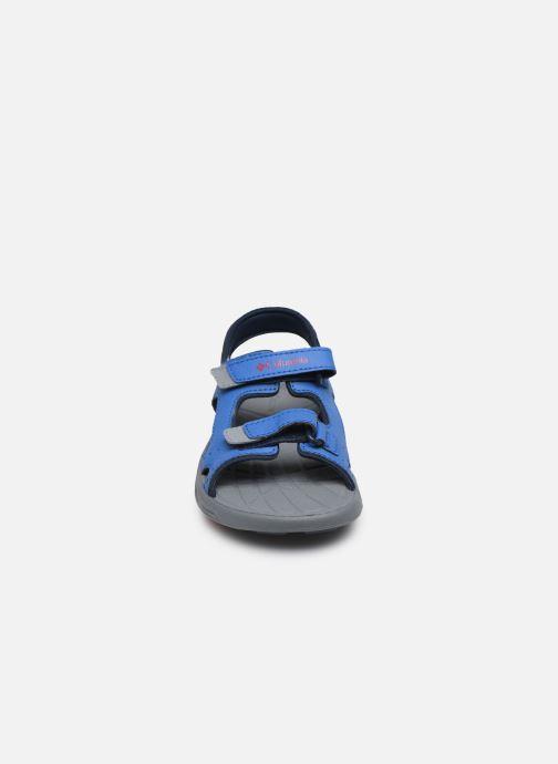 Chaussures de sport Columbia Youth Techsun Vent Bleu vue portées chaussures