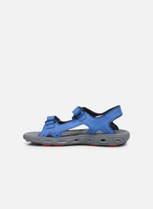 Chaussures de sport Columbia Youth Techsun Vent Bleu vue face