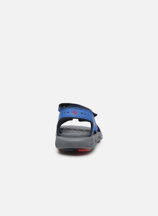 Chaussures de sport Columbia Youth Techsun Vent Bleu vue droite