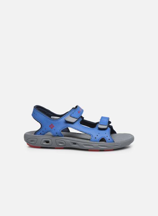 Chaussures de sport Columbia Youth Techsun Vent Bleu vue derrière