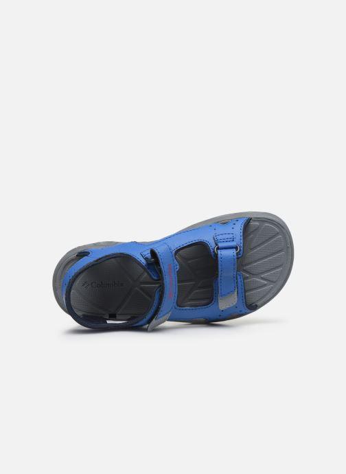 Chaussures de sport Columbia Youth Techsun Vent Bleu vue gauche
