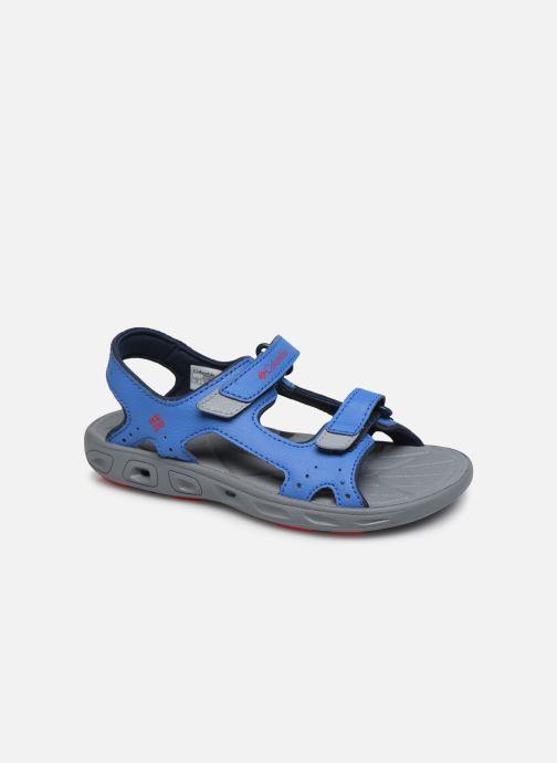 Sportssko Columbia Youth Techsun Vent Blå detaljeret billede af skoene