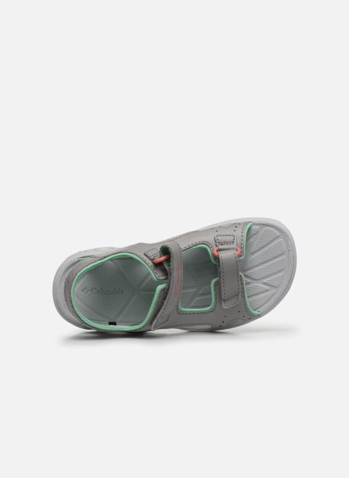 Zapatillas de deporte Columbia Youth Techsun Vent Gris vista lateral izquierda