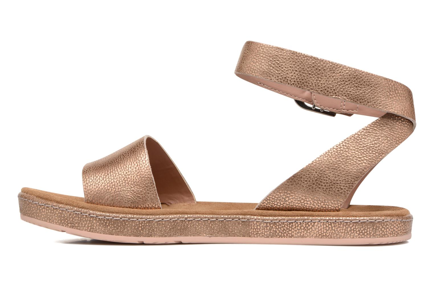 Sandals Clarks Romantic Moon Pink front view