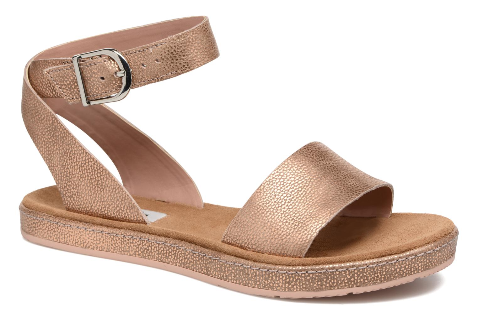 Sandals Clarks Romantic Moon Pink detailed view/ Pair view