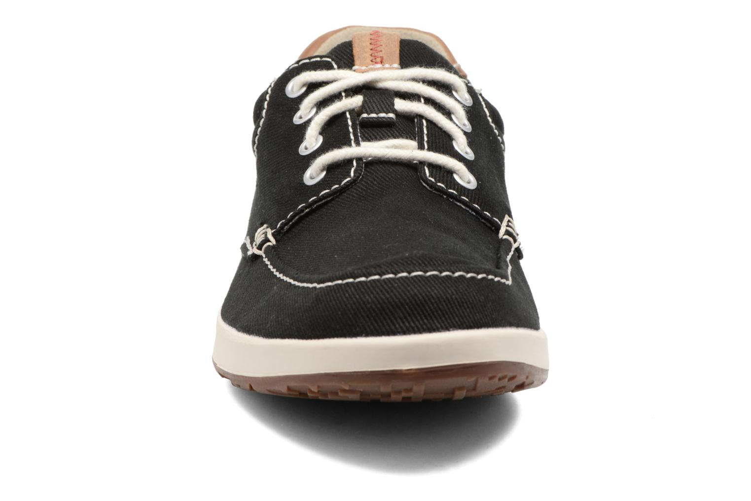 Sneakers Clarks Norwin Vibe Zwart model