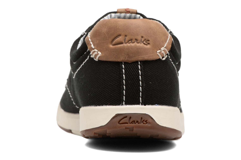 Baskets Clarks Norwin Vibe Noir vue droite