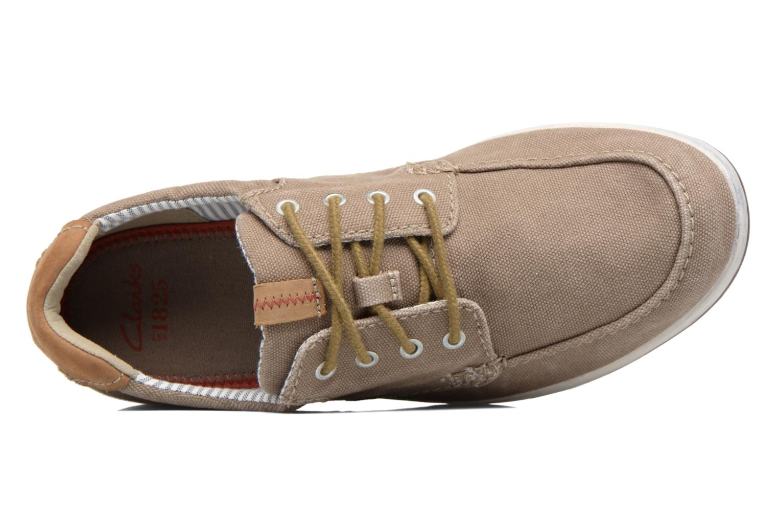 Sneakers Clarks Norwin Vibe Groen links