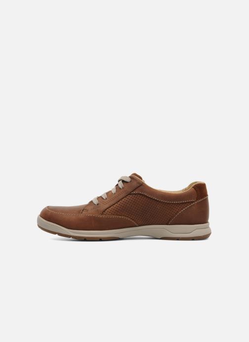 Sneakers Clarks Unstructured Stafford Park5 Marrone immagine frontale