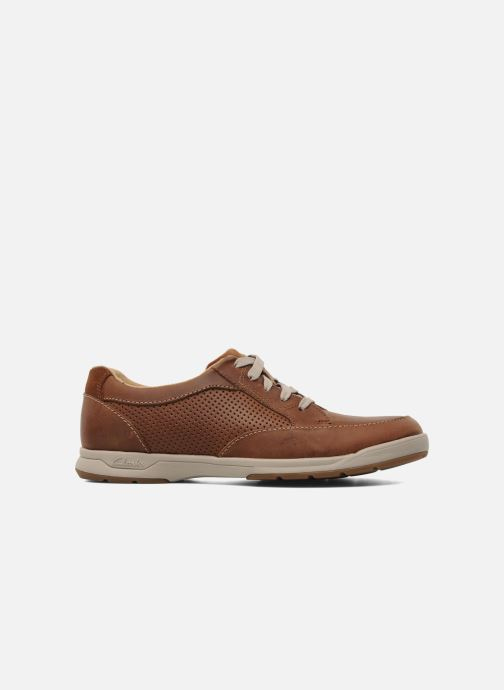 Sneakers Clarks Unstructured Stafford Park5 Bruin achterkant