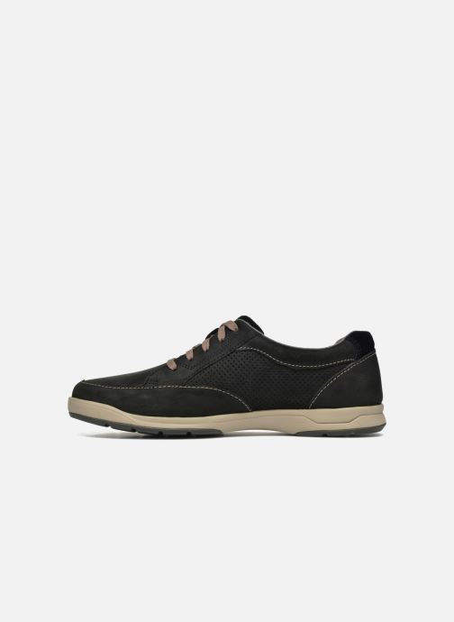 Baskets Clarks Unstructured Stafford Park5 Noir vue face