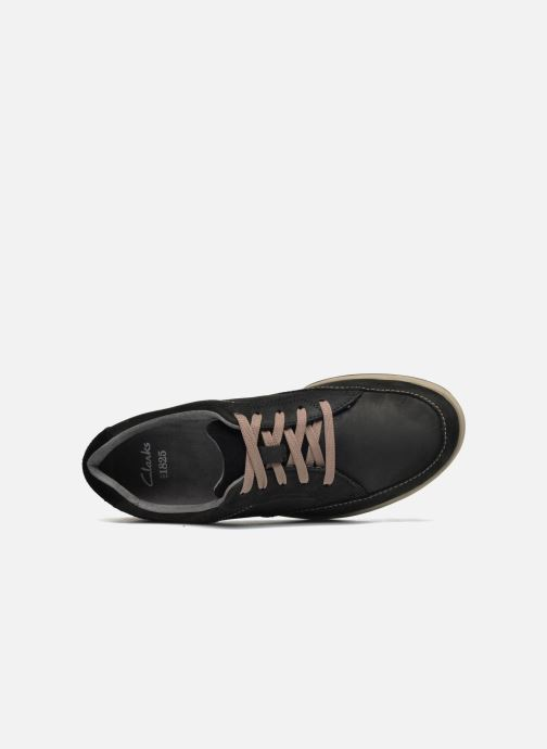 Baskets Clarks Unstructured Stafford Park5 Noir vue gauche