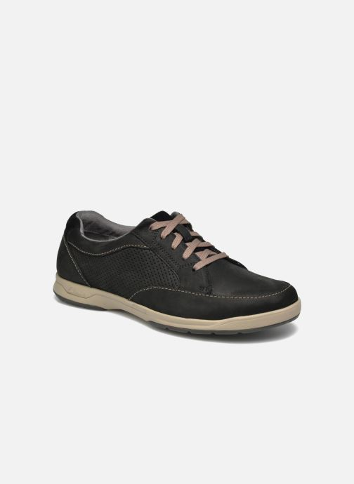 Baskets Clarks Unstructured Stafford Park5 Noir vue détail/paire