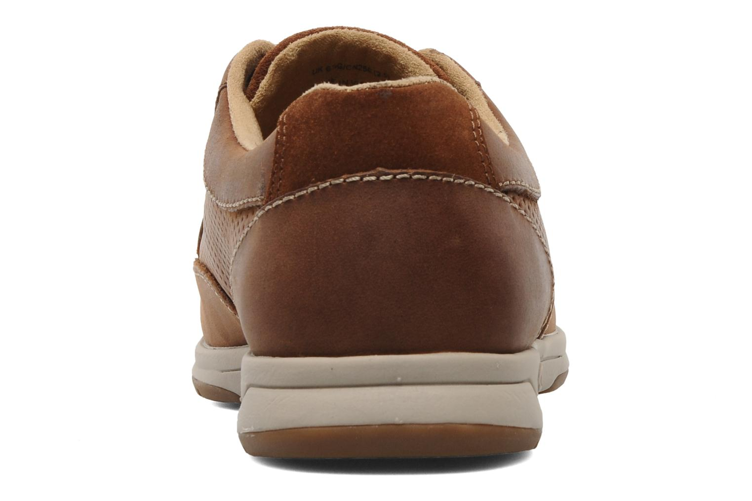Baskets Clarks Unstructured Stafford Park5 Marron vue droite
