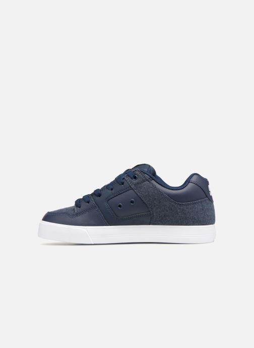 Baskets DC Shoes Pure SE Bleu vue face