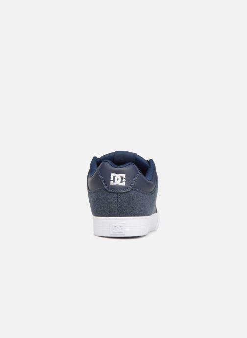 Baskets DC Shoes Pure SE Bleu vue droite