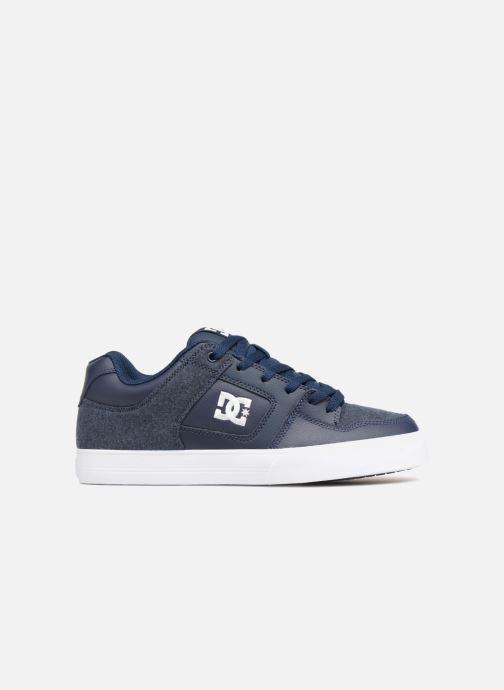 Baskets DC Shoes Pure SE Bleu vue derrière
