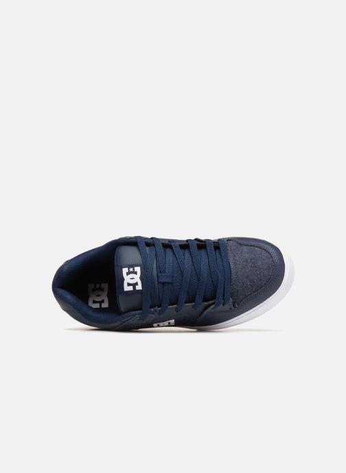 Baskets DC Shoes Pure SE Bleu vue gauche