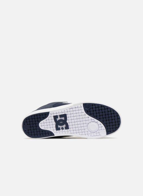 Baskets DC Shoes Pure SE Bleu vue haut