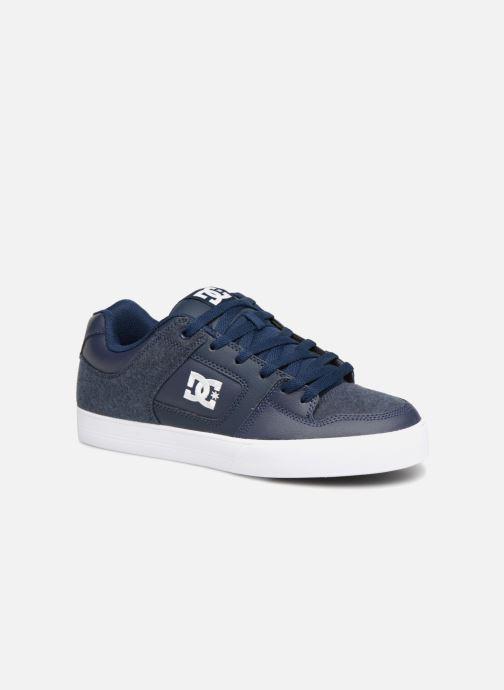 Baskets DC Shoes Pure SE Bleu vue détail/paire