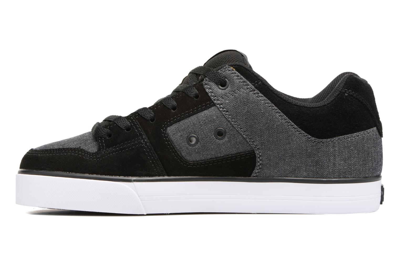 Trainers DC Shoes Pure SE Black front view