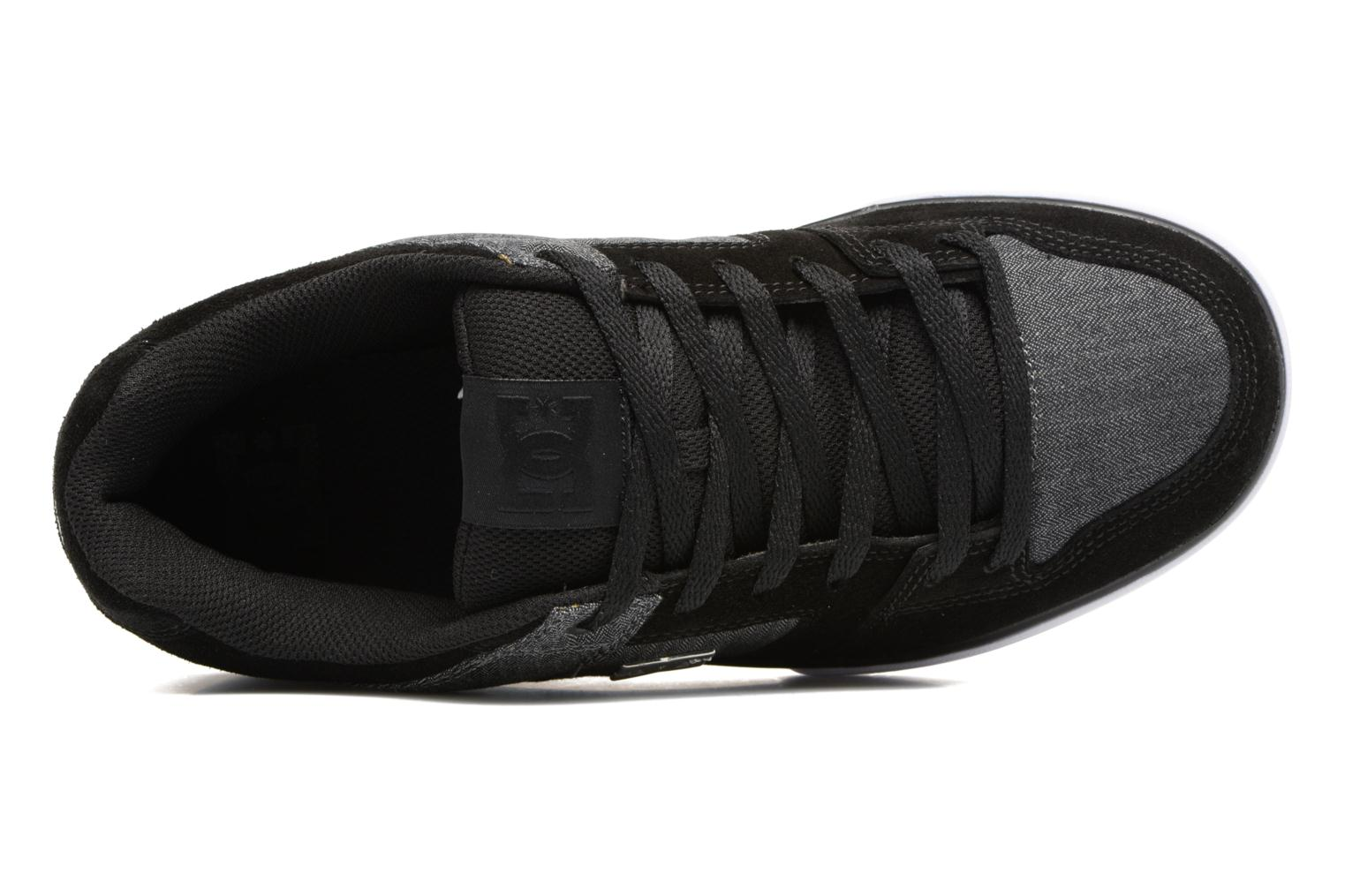 Trainers DC Shoes Pure SE Black view from the left