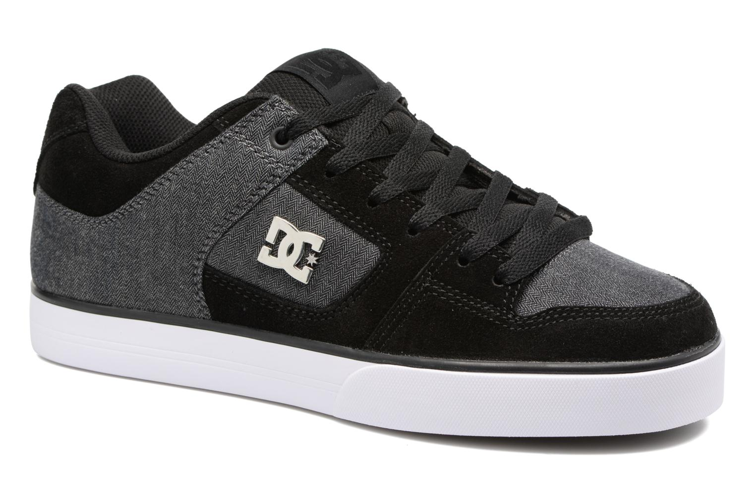 Trainers DC Shoes Pure SE Black detailed view/ Pair view