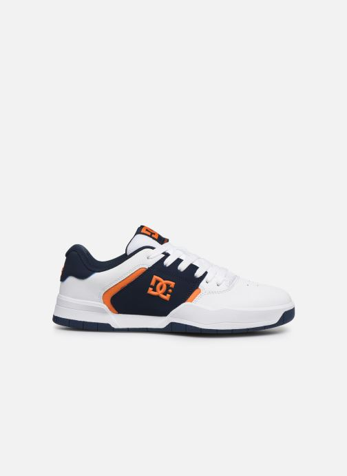 Chanclas DC Shoes Central Blanco vistra trasera