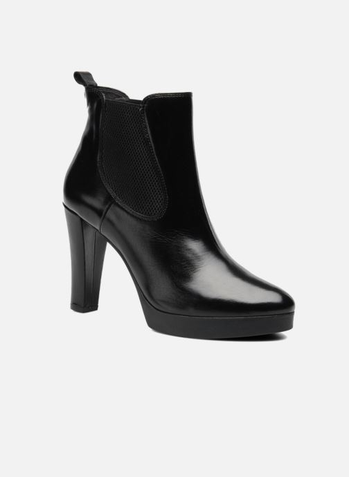 Ankle boots Georgia Rose Tabatière Black detailed view/ Pair view
