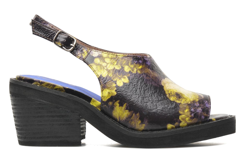 Sandales et nu-pieds Jeffrey Campbell JC 2013-553 Multicolore vue derrière