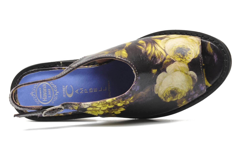 Sandales et nu-pieds Jeffrey Campbell JC 2013-553 Multicolore vue gauche
