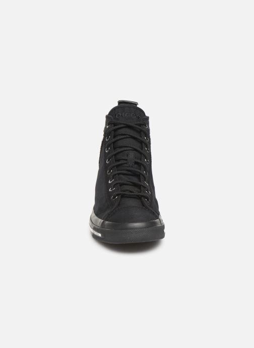 Baskets Diesel Exposure I Noir vue portées chaussures