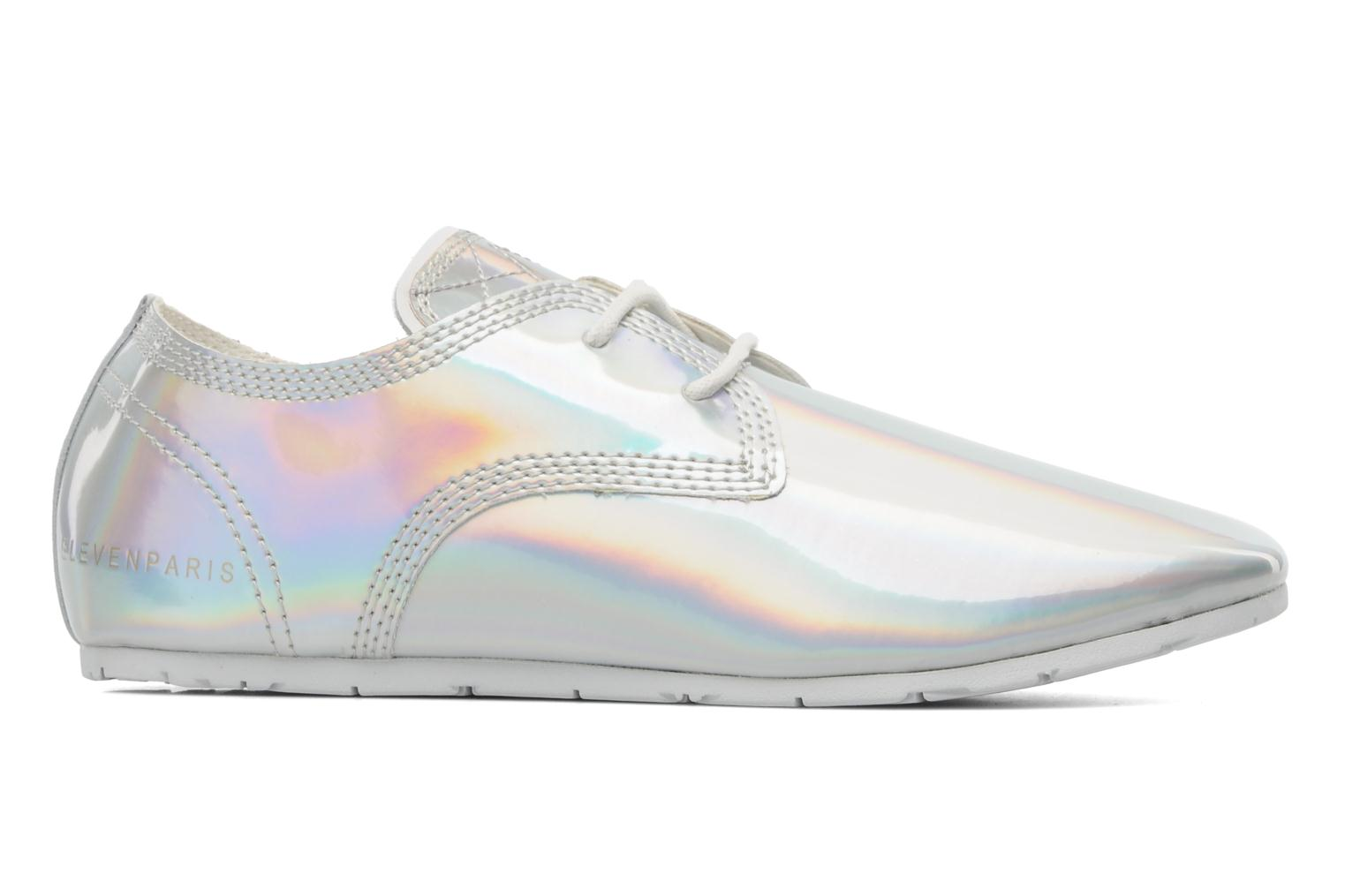 Trainers Eleven paris Basic Patent Holo F Silver back view