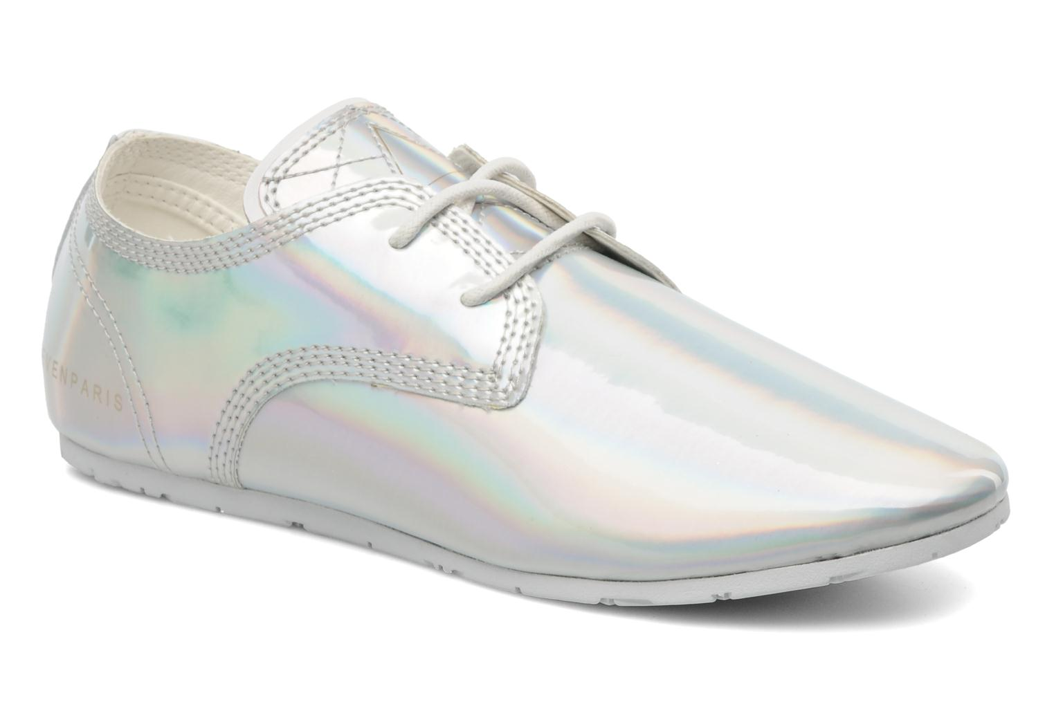 Trainers Eleven paris Basic Patent Holo F Silver detailed view/ Pair view
