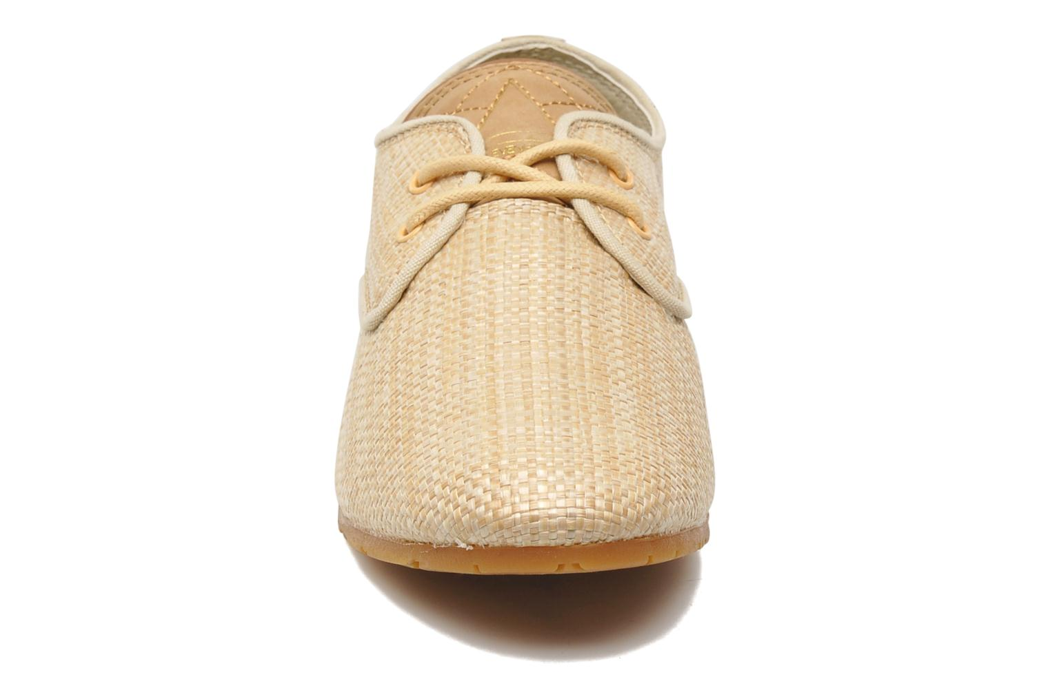 Trainers Eleven paris Basic Raffia F Beige model view