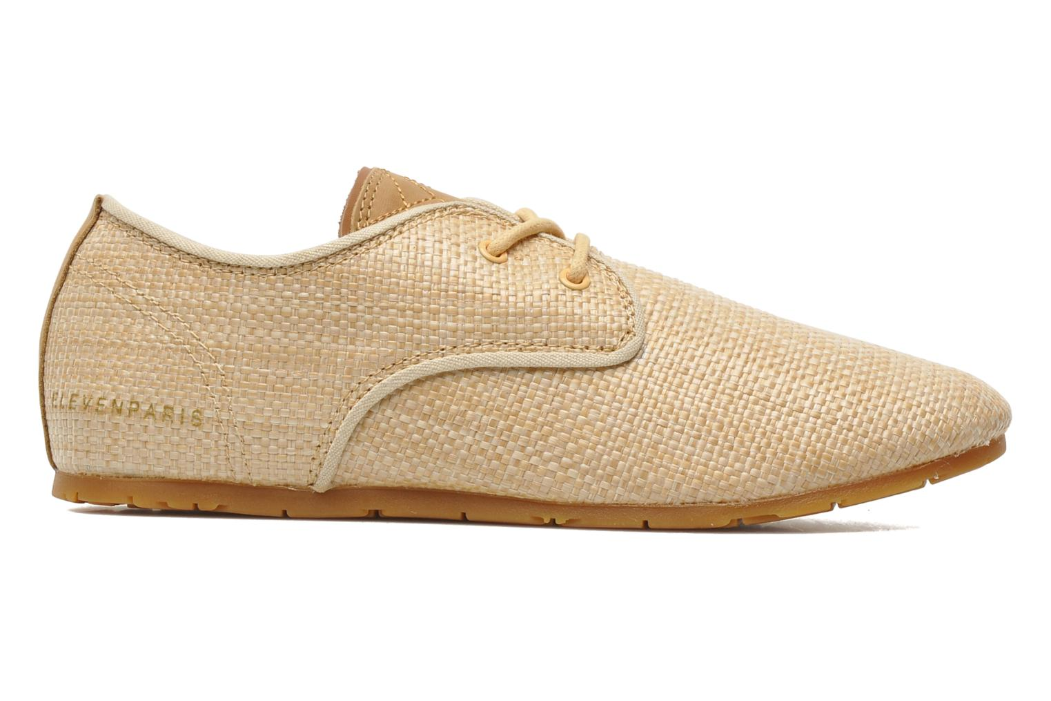 Trainers Eleven paris Basic Raffia F Beige back view