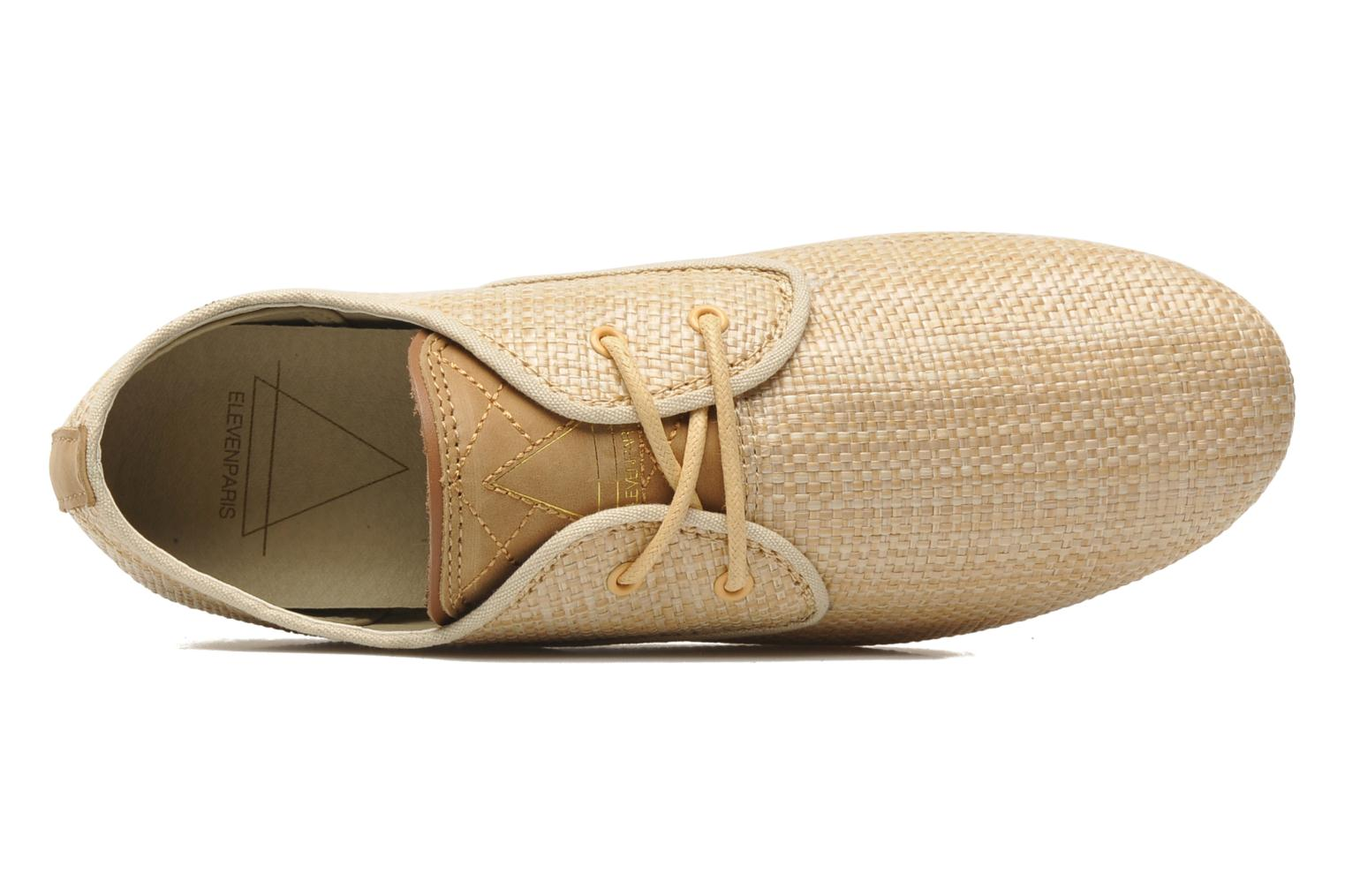 Trainers Eleven paris Basic Raffia F Beige view from the left