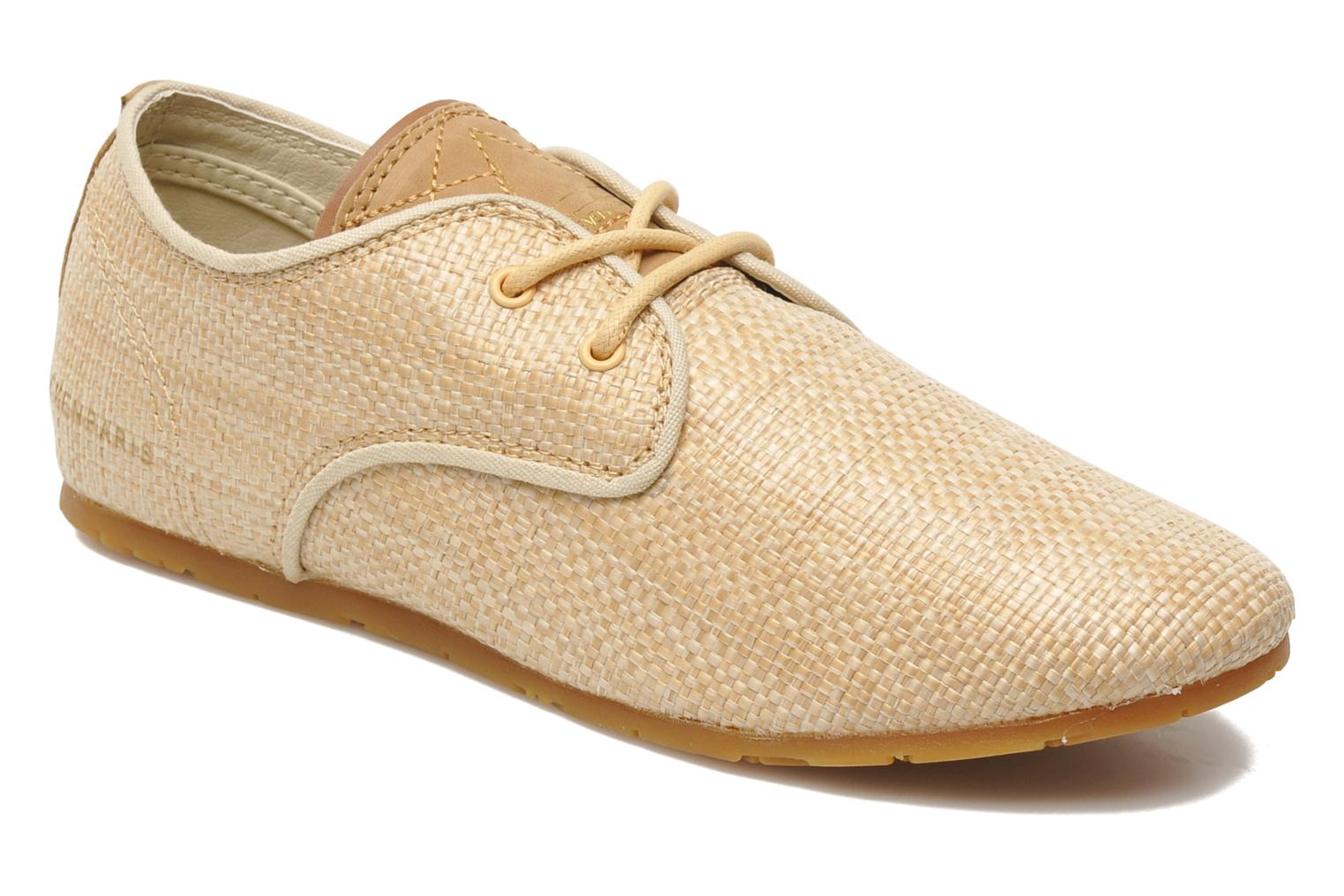 Trainers Eleven paris Basic Raffia F Beige detailed view/ Pair view