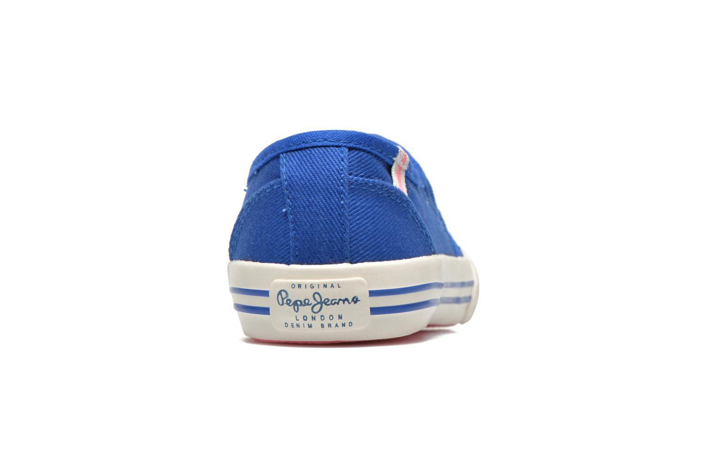 Baskets Pepe jeans BAKER Bleu vue droite