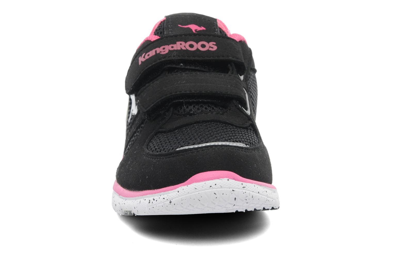 Baskets Kangaroos Nara Noir vue portées chaussures