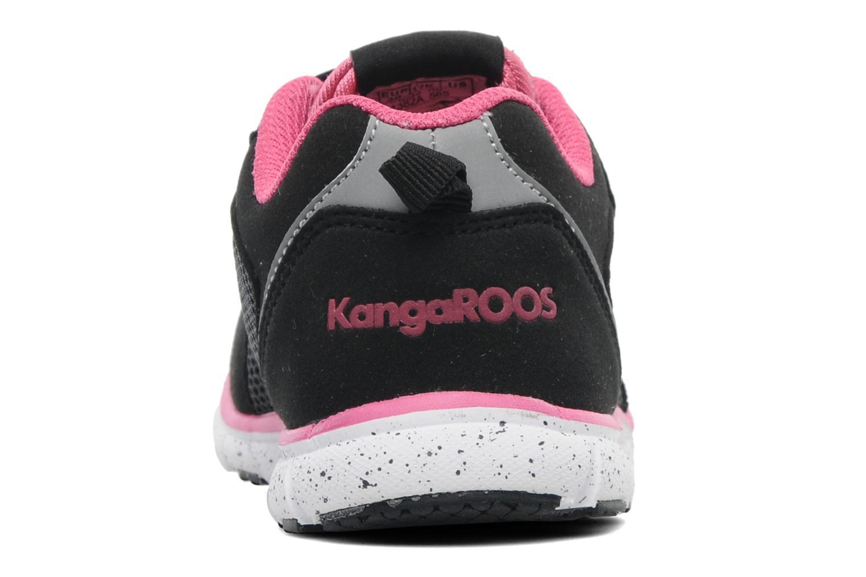 Baskets Kangaroos Nara Noir vue droite