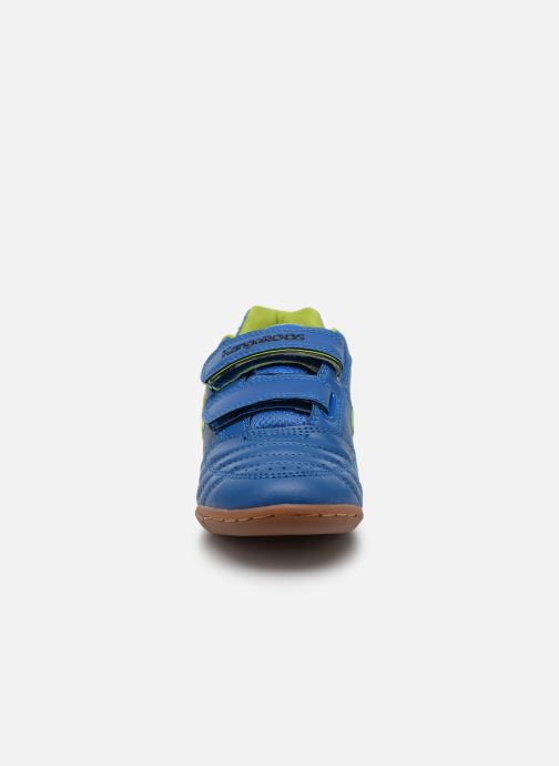 Trainers Kangaroos Power Court Blue model view