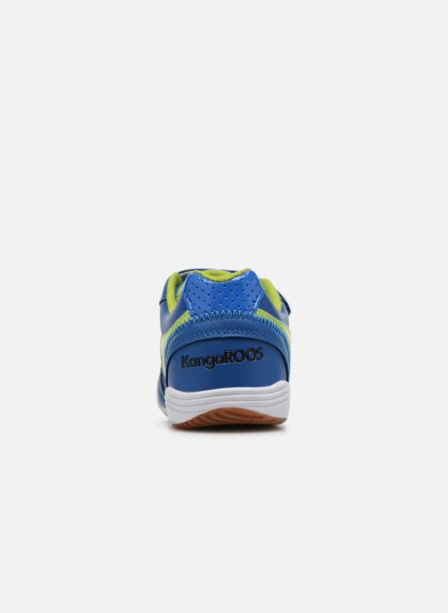 Trainers Kangaroos Power Court Blue view from the right