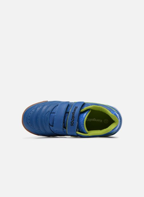 Trainers Kangaroos Power Court Blue view from the left