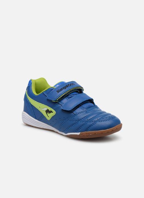 Baskets Kangaroos Power Court Bleu vue détail/paire