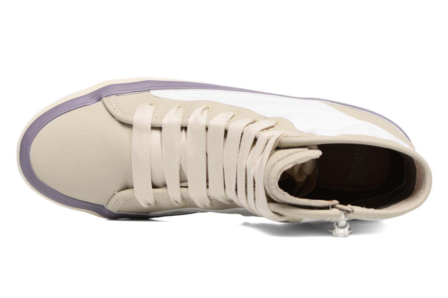 Trainers Camper Portol 46706 Beige view from the left