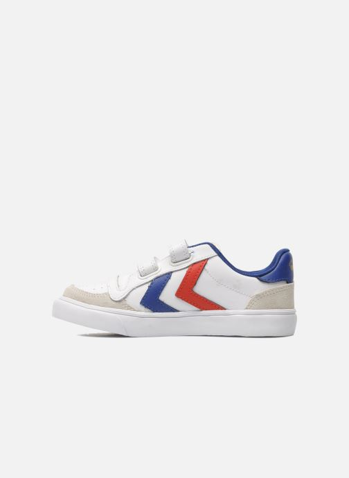 Sneakers Hummel Stadil JR Leather Low Bianco immagine frontale