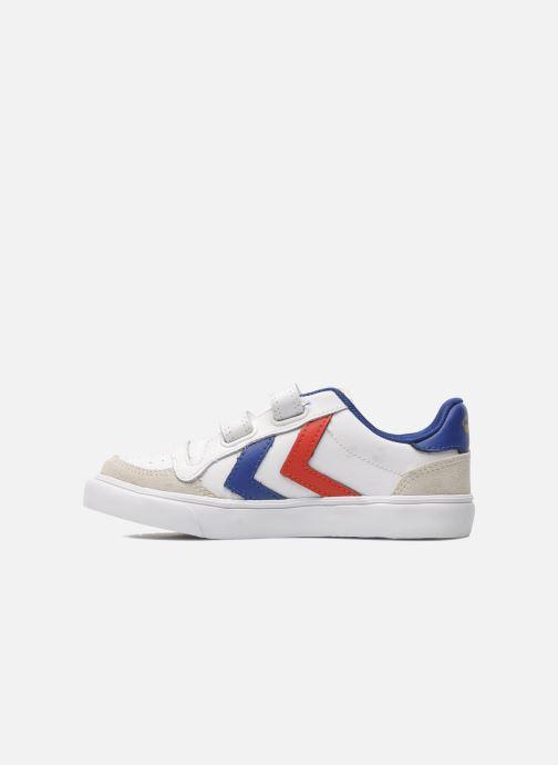 Sneakers Hummel Stadil JR Leather Low Wit voorkant