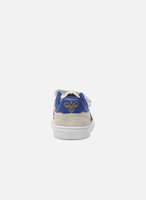 Sneaker Hummel Stadil JR Leather Low weiß ansicht von rechts