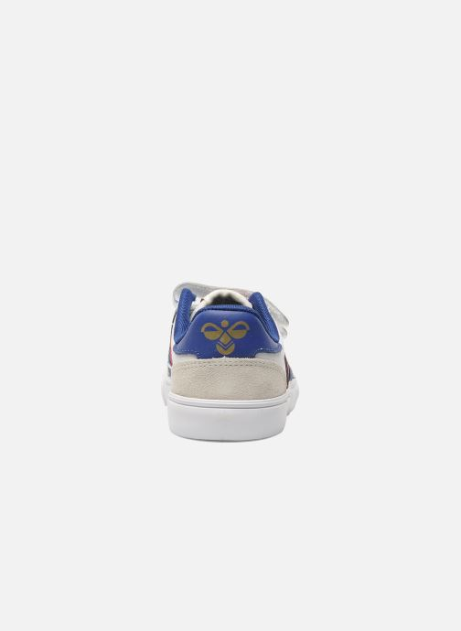 Baskets Hummel Stadil JR Leather Low Blanc vue droite